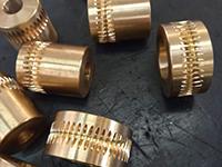 Coroas em Bronze para Redutor de Velocidade